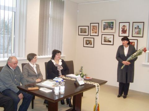 2013 m. viešnagė Prienų Justino Marcinkevičiaus viešojoje bibliotekoje