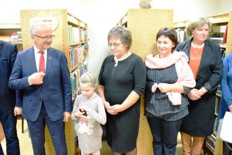 Išlaužo bibliotekos atidarymo šventė